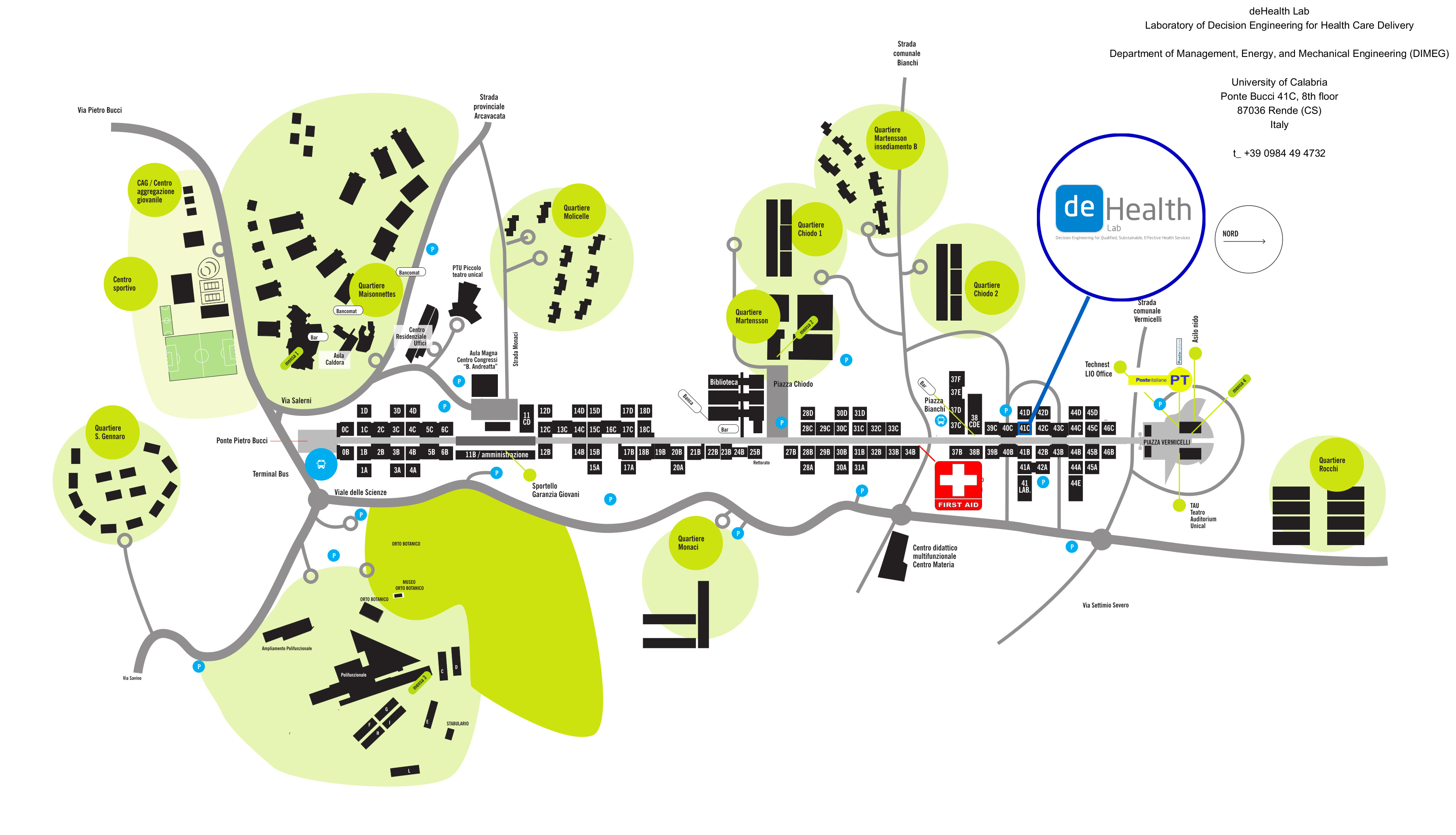 dehealthlab university map
